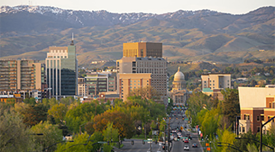 Downtown Boise, ID